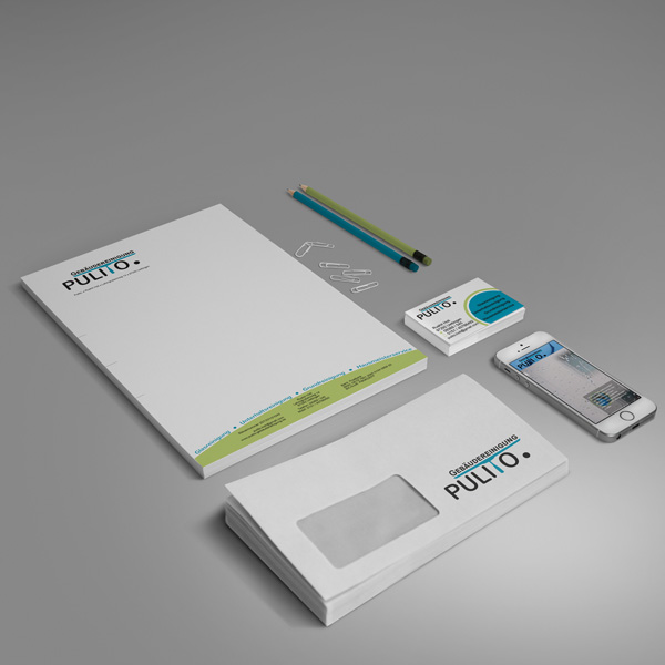 Logoerstellung, Visitenkarte, Briefpapier, Briefhüllen, Blöcke, Kugelschreiber, Webauftritt ...